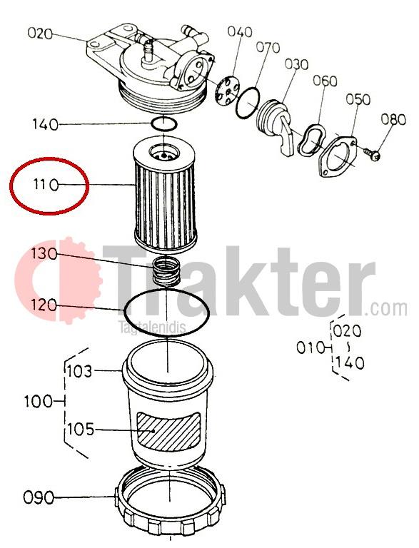 Kubota Fuel Filter