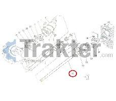 ALBERO MOTORE 4X4 ORIGINAL KUBOTA 66711-57210
