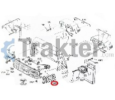 RÜCKSTRAHLER LINKS ORIGINAL KUBOTA 34070-99080 h3400-99080