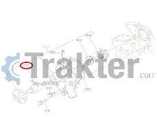 WASSERPUMPE KUGELLAGER ORIGINAL KUBOTA 15852-73550