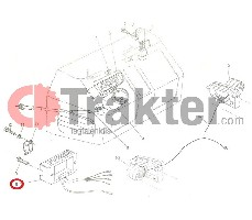 REGULADOR RECTIFICADOR KUBOTA ORIGINAL 15503-64600 15531-64600 15531-64603