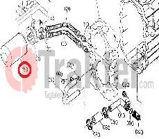 HYDRAULIKFILTER SERIENGETRIEBE ORIGINAL KUBOTA 32701-37950