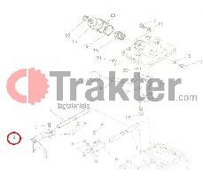 SCHALTGABEL 1 HINTEN ORIGINAL KUBOTA h6710-18120 67111-18120