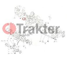 ΦΡΕΝΩΝ ΑΞΟΝΑΚΙ ΑΡΙΣΤΕΡΟ ORIGINAL KUBOTA 66611-15110 66611-15113