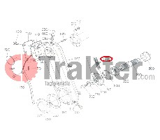 BODENFRÄSE-ROLLENKETTE SEITEN- UND MITTELANTRIEB ORIGINAL KUBOTA 79166-32350 79163-32350