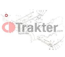 SCHMIERNIPPEL PEDALWELLE ORIGINAL KUBOTA 06613-10010