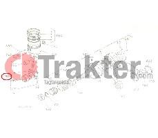 ΜΠΙΕΛΑ ΠΙΣΤΟΝΙΟΥ ΣΕΤ ORIGINAL KUBOTA 16241-22010 16241-22012 1g700-22010