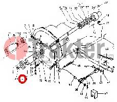 COJINETE DE EMBRAGUE KUBOTA ORIGINAL 32150-14820 32270-14820
