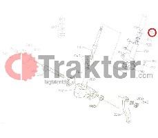 WELLENDICHTRING SILENTBLOCK LENKER ORIGINAL KUBOTA 67156-41150