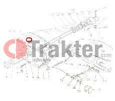 KUPPLUNG GABELKOPF ORIGINAL KUBOTA h6660-13350 66621-13350