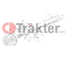 ΣΥΜΠΛΕΚΤΗ ΣΤΑΥΡΟΣ ΔΙΧΑΛΟ ORIGINAL KUBOTA 67111-13450