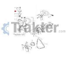 COPERCHIO TERMOSTATO ORIGINAL ISEKI 5663-008-771-00