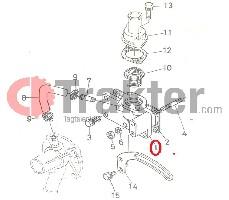 TEMPERATURREGLER GEHÄUSE ORIGINAL KUBOTA 15531-72700 15531-72910