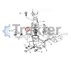 TEMPERATURREGLER ORIGINAL KUBOTA 15321-73010
