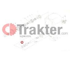 ΤΣΙΜΟΥΧΑ ΑΞΟΝΑ 4X4 ΣΑΣΜΑΝ ORIGINAL KUBOTA 67121-15620