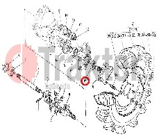 WELLENDICHTRING VORDERRAD ORIGINAL KUBOTA 63733-17150