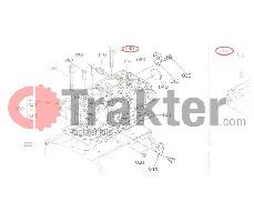 BULLONE TESTA CILINDRO ORIGINAL KUBOTA 16241-03450