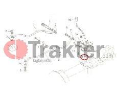 HYDRAULISCHER JOYSTICK ORIGINAL KUBOTA 66711-36200 66711-36201 66711-36206